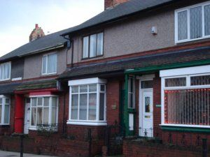 Thumbnail 2 bed terraced house to rent in Seaside Lane South, Easington Colliery, Peterlee
