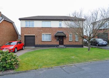 Thumbnail 5 bed detached house for sale in Lambert Park, Dundonald, Belfast