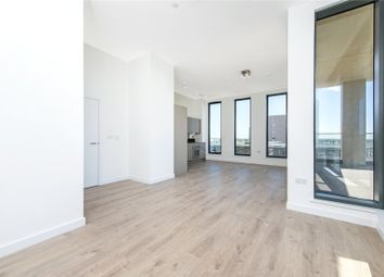 Thumbnail 3 bed flat to rent in Legacy Tower, 88 Great Eastern Road, London