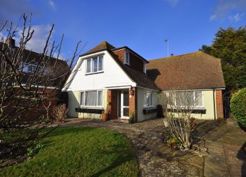 Thumbnail 3 bed detached house for sale in Lodge Avenue, Willingdon, Eastbourne