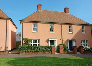 Thumbnail 3 bed semi-detached house to rent in Mansell Copse Walk, Exeter