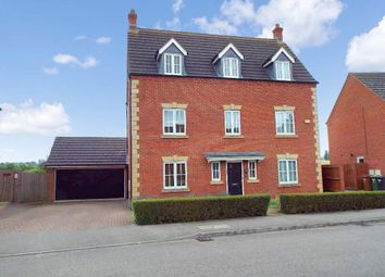 Thumbnail 5 bed detached house for sale in Briarwood Way, Wollaston, Northamptonshire