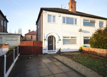 Thumbnail 3 bed semi-detached house to rent in Bromborough Village Road, Bromborough, Wirral