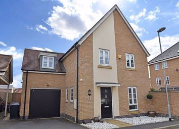 Thumbnail 4 bed detached house for sale in Canal Way, Northampton
