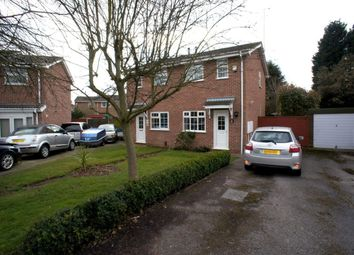 Thumbnail 2 bedroom semi-detached house to rent in Slindon Croft, Alvaston, Derby