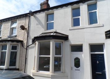 Thumbnail 3 bedroom terraced house to rent in Woolman Road, Blackpool