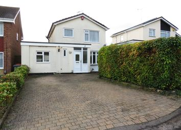 Thumbnail 4 bed detached house for sale in Carlisle Close, Dunstable