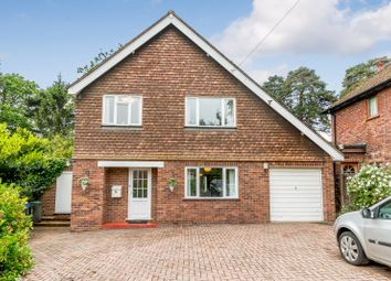 Thumbnail 3 bed detached house for sale in Lynwood Close, Woodham, Addlestone