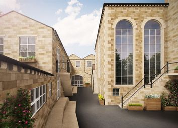 Thumbnail 2 bed flat for sale in The Courtyard, Hollins Mill, Hollins Road, Walsden, West Yorkshire