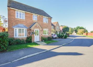 Thumbnail 4 bed detached house for sale in Burghley Close, Crowland, Peterborough