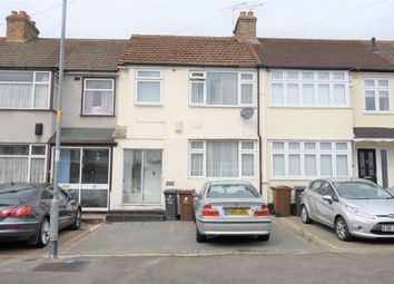 Thumbnail 3 bed terraced house for sale in Strood Avenue, Romford