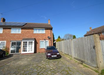 Thumbnail 2 bed semi-detached house for sale in Hatch Gardens, Tadworth