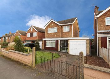 Thumbnail 3 bed detached house for sale in Horsendale Avenue, Nuthall, Nottingham
