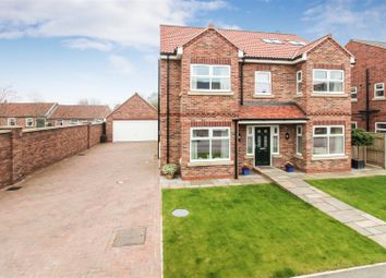 Thumbnail 6 bed detached house for sale in Williamsfield Road, Cranswick, Driffield