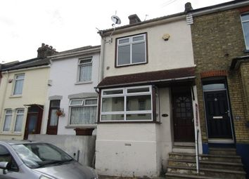 Thumbnail 3 bed terraced house to rent in Glencoe Road, Chatham
