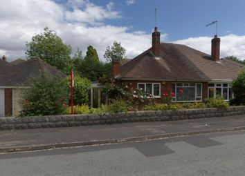 Thumbnail 2 bed bungalow for sale in Brookside Close, Newcastle, Staffordshire