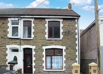 Thumbnail 3 bed semi-detached house for sale in Greenfield Street, New Tredegar, Caerphilly