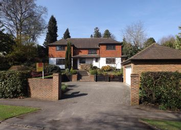 Thumbnail 4 bedroom detached house for sale in Waverley Drive, Camberley