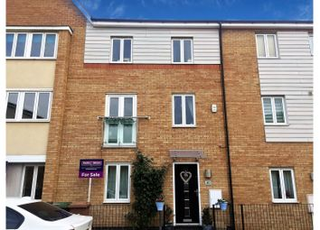 Thumbnail 4 bed town house for sale in Harn Road, Peterborough