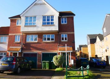 Thumbnail 3 bed town house to rent in Greenhaven Drive, Thamesmead