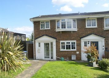 Thumbnail 3 bed semi-detached house for sale in Leas Close, Chessington