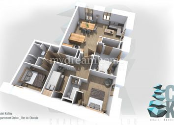 Thumbnail 3 bed apartment for sale in Les Houches, 74310, France