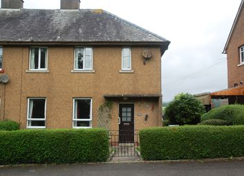 Thumbnail 3 bed semi-detached house for sale in 12 Stirling Crescent, Kirkcudbright