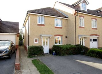 Thumbnail 3 bedroom end terrace house for sale in Melville Gardens, Sarisbury Green, Southampton