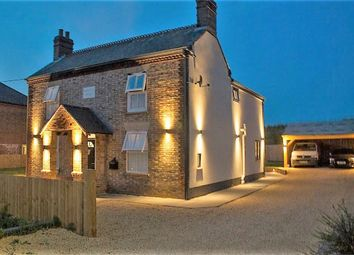 Thumbnail 3 bed detached house for sale in Stow Road, Wiggenhall St. Mary, King's Lynn