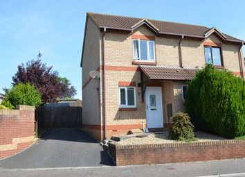 Thumbnail 2 bed semi-detached house for sale in Chaffinch Drive, Cullompton