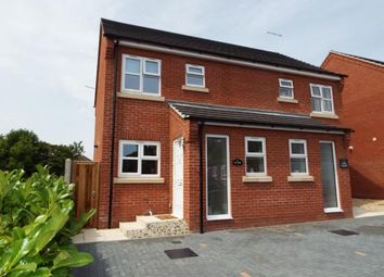Thumbnail 2 bed semi-detached house for sale in Barons Close, Fakenham, Norfolk