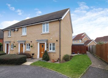 Thumbnail 2 bedroom end terrace house for sale in Bullfinch Close, Stowmarket