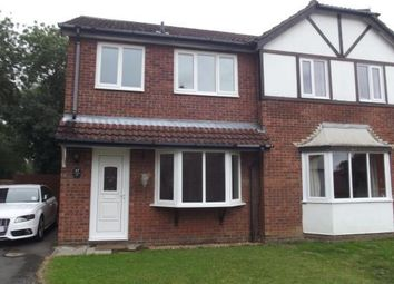 Thumbnail 3 bed semi-detached house to rent in Read Way, Coningsby, Lincoln