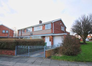 Thumbnail 3 bed semi-detached house for sale in Bolam Avenue, Blyth
