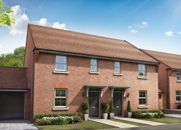 "Thumbnail 3 bed semi-detached house for sale in ""Ashworth"" at Hook Lane, Aldingbourne, Chichester"