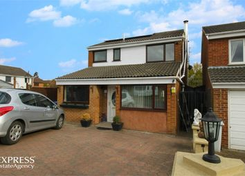 Thumbnail 3 bed detached house for sale in Rose Close, Rothwell, Kettering, Northamptonshire