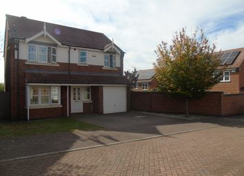 4 bed detached house for sale in Flatford Close, Corby NN18