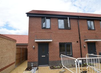 Thumbnail 2 bed end terrace house for sale in Silfield Road, Wymondham