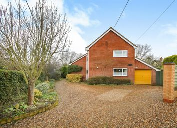 Thumbnail 4 bedroom detached house for sale in Lopham Road, East Harling, Norwich