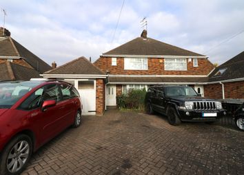 Thumbnail 3 bed semi-detached house to rent in Oakley Road, Luton
