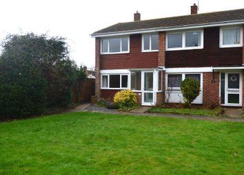 Thumbnail 3 bedroom semi-detached house to rent in Denham Close, Stubbington, Fareham