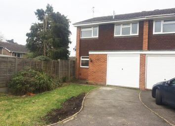 Thumbnail 3 bed semi-detached house to rent in Jerrymoor Hill, Finchampstead