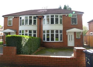 Thumbnail 6 bed semi-detached house to rent in Mauldeth Road, Withington, Manchester
