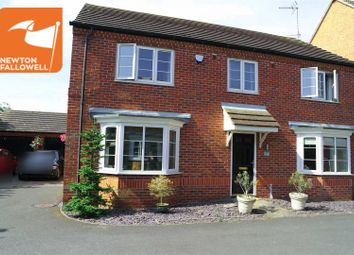 Thumbnail 4 bed detached house for sale in Powell Court, Farnsfield, Newark