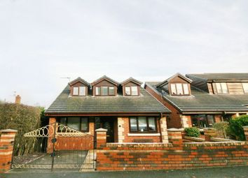 Thumbnail 4 bedroom detached house for sale in Lawefield Crescent, Clifton, Swinton, Manchester