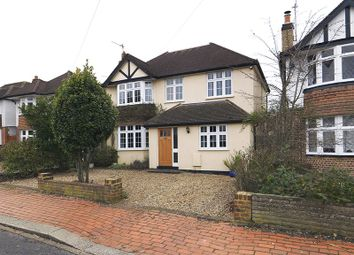 Thumbnail 4 bed detached house for sale in Greenwood Road, Thames Ditton