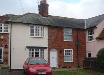 Thumbnail 2 bed terraced house to rent in Rectory Road, Newton, Sudbury