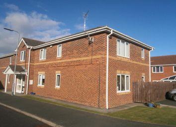 Thumbnail 2 bedroom flat for sale in Ambrose Court, Blaydon-On-Tyne
