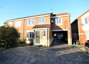 Thumbnail 5 bed semi-detached house for sale in Maidens Close, Norwich