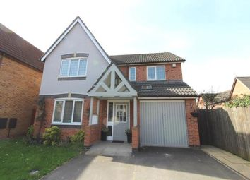 Thumbnail 4 bed detached house for sale in Downes Way, Sharston, Manchester